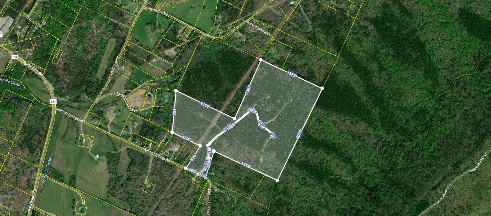 Land for Sale at 90.42 ac Benton Springs Road Benton, Tennessee 37307 United States