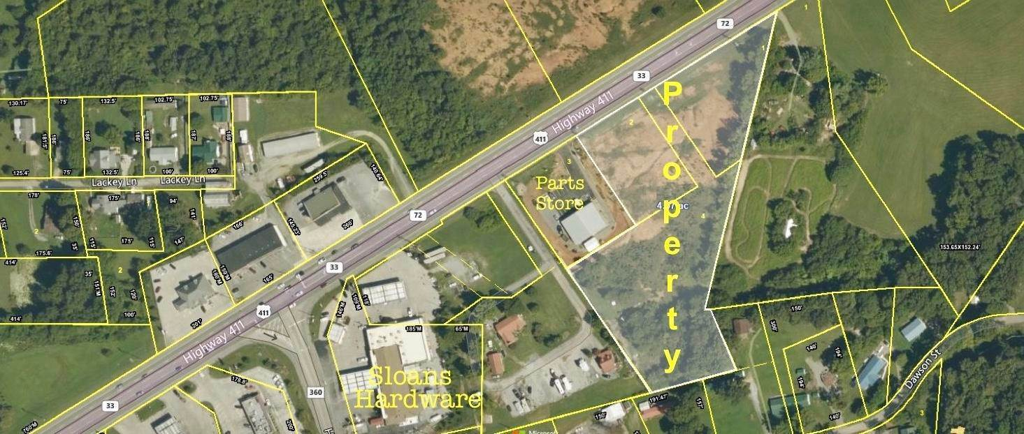 Land for Sale at Highway 411 Vonore, Tennessee 37885 United States