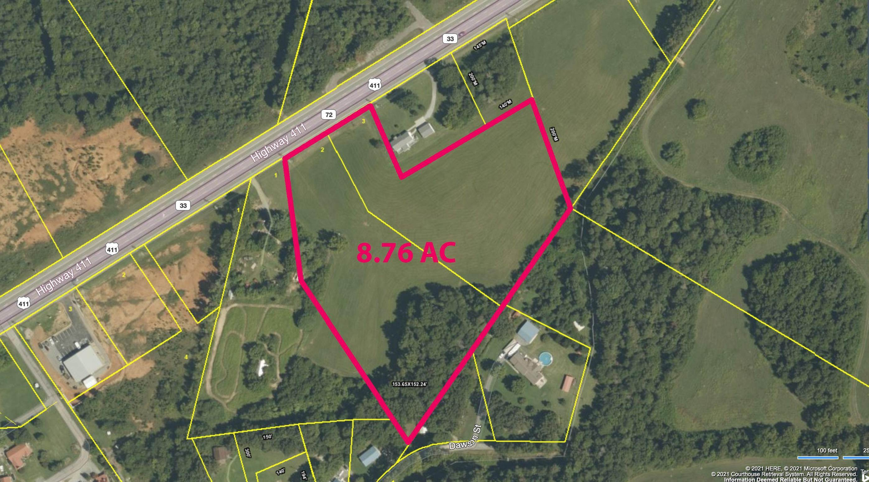 Land for Sale at 863 & 859 Highway 411 Vonore, Tennessee 37885 United States
