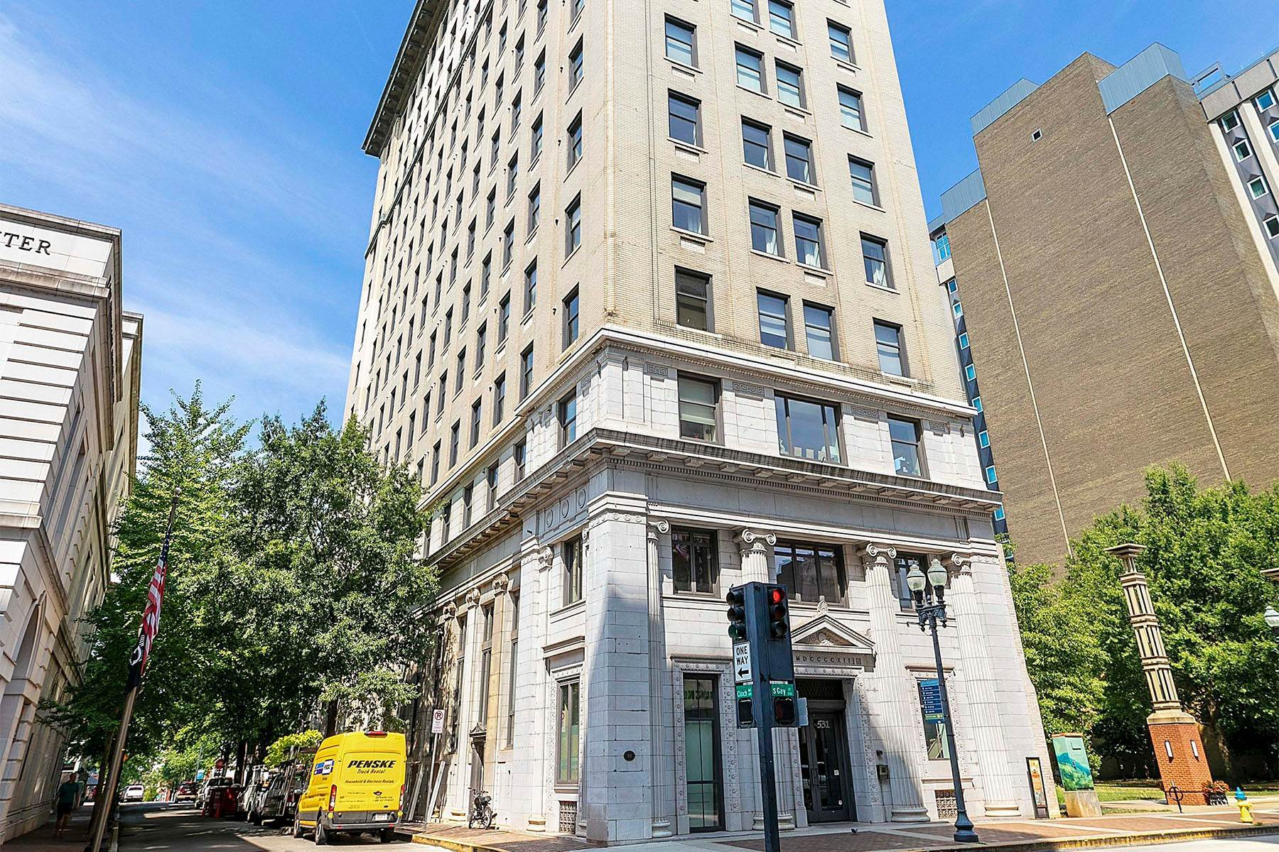 Single Family Homes for Sale at Luxuriously Appointed Downtown Condo 531 S. Gay Street #1202 Knoxville, Tennessee 37902 United States