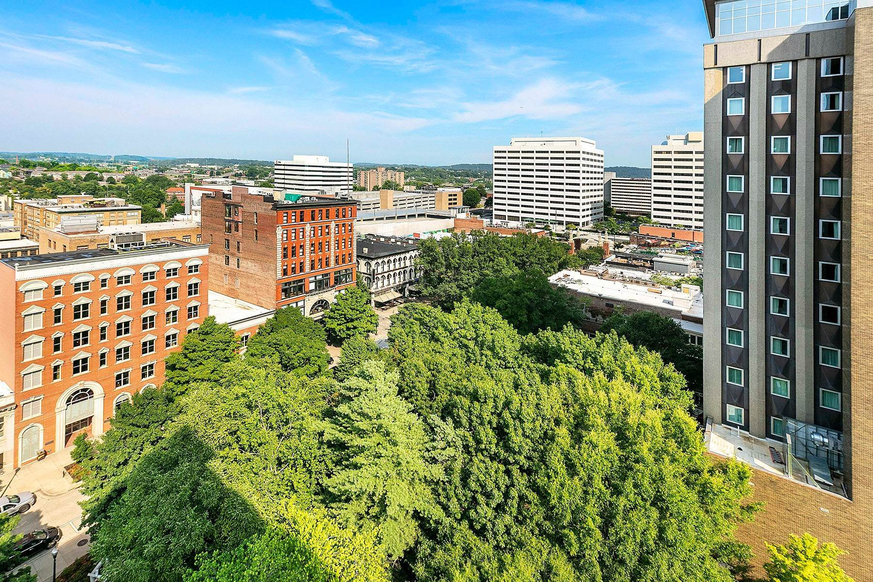 17. Single Family Homes for Sale at Luxuriously Appointed Downtown Condo 531 S. Gay Street #1202 Knoxville, Tennessee 37902 United States