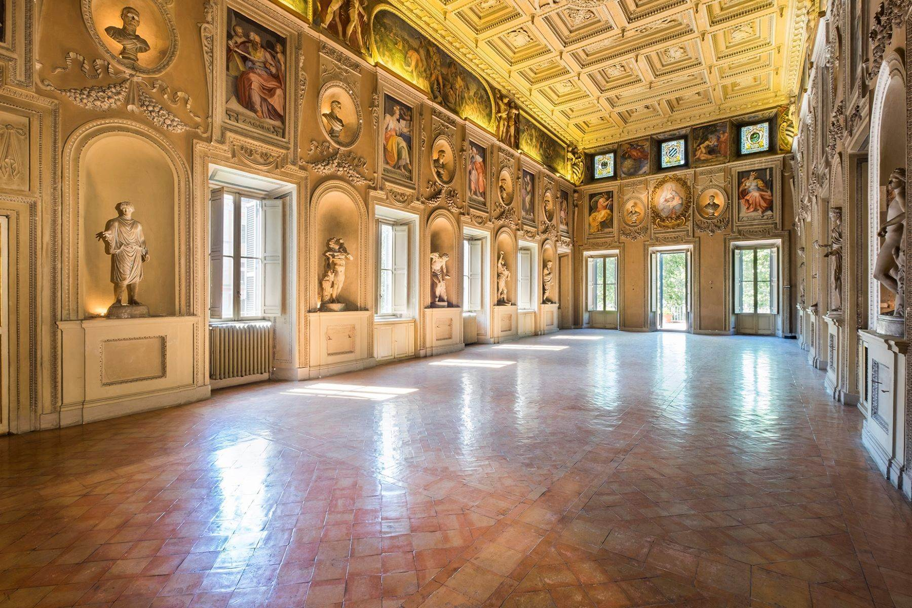 Property 为 销售 在 Noble floor apartment in Palazzo Sacchetti, a pearl of the late Renaissance 罗马, 罗马 意大利