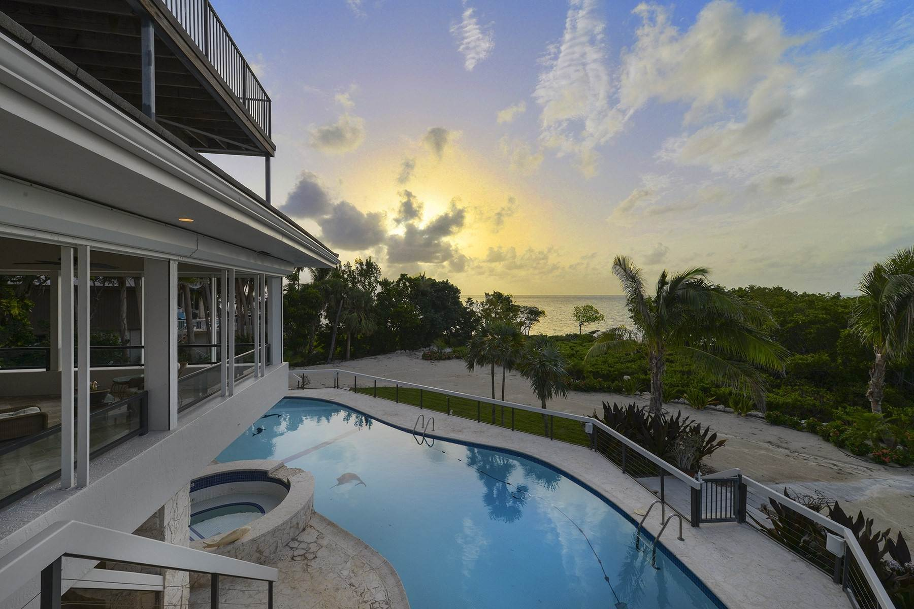 Single Family Homes for Sale at 19 Sunrise Cay Drive, Key Largo, FL 19 Sunrise Cay Drive Key Largo, Florida 33037 United States